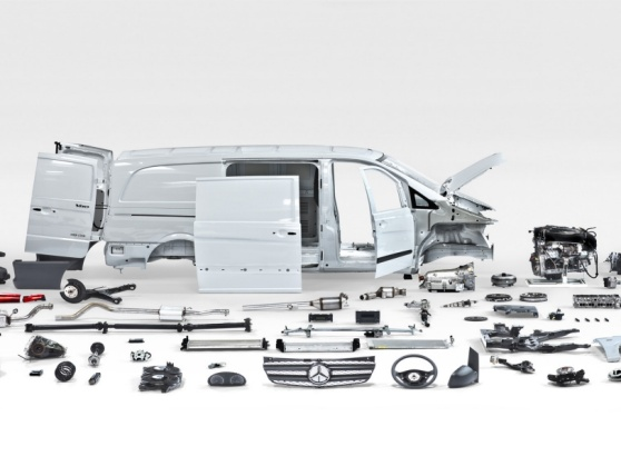 Mercedes-Benz Used Parts